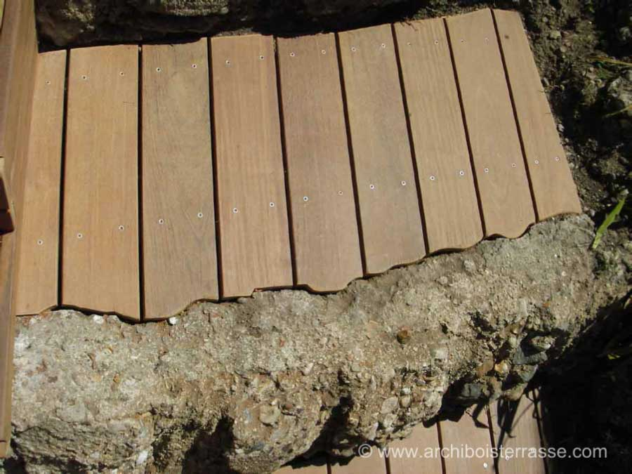 terrasse bois 2 niveaux contre terrasse avant terrasse sous niveau. Black Bedroom Furniture Sets. Home Design Ideas