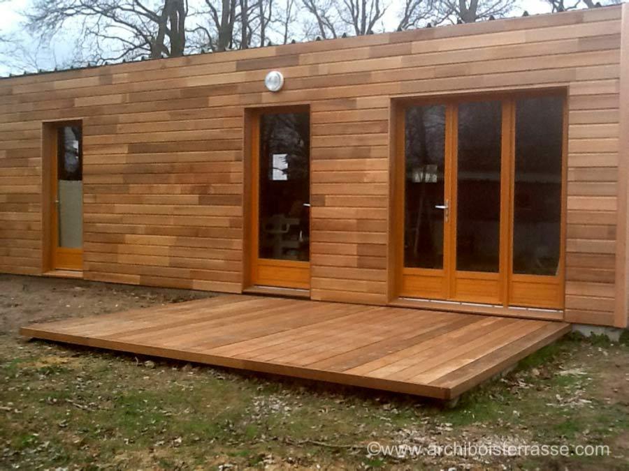 cottage bungalow pavillon et petites terrasses bois au sol 27 95 78. Black Bedroom Furniture Sets. Home Design Ideas