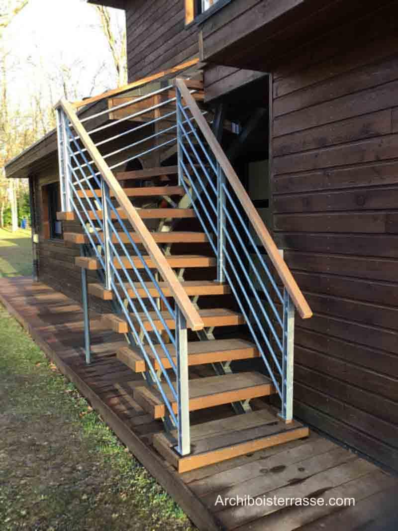 Terrasse En Bois Oise avant-après : rénovation terrasses bois et toiture-terrasse