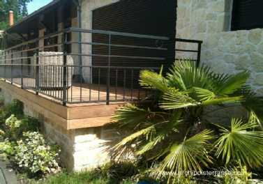 garde corps m talliques de terrasse et balcon inox acier. Black Bedroom Furniture Sets. Home Design Ideas