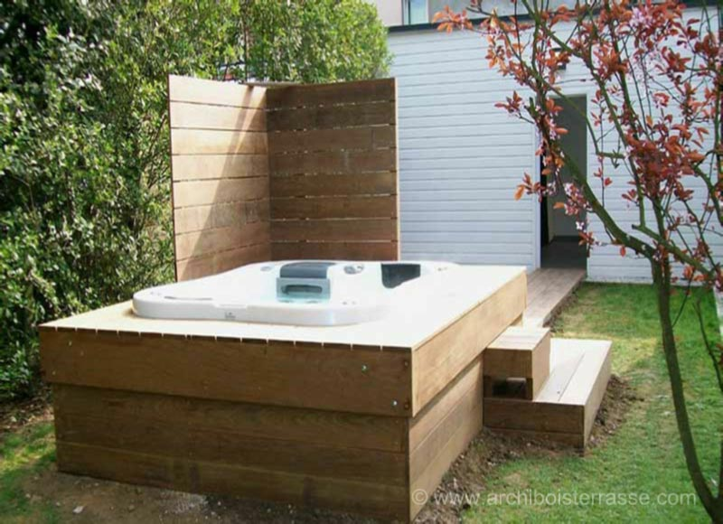 stunning jacuzzi de jardin de segunda mano contemporary amazing house design. Black Bedroom Furniture Sets. Home Design Ideas