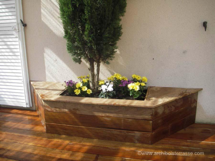 bac fleurs bois trendy la mise en place des lames with bac fleurs bois dedans dehors bac. Black Bedroom Furniture Sets. Home Design Ideas