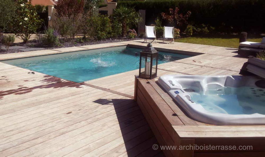 Piscine bois demontable l installation d une piscine for Piscine demontable