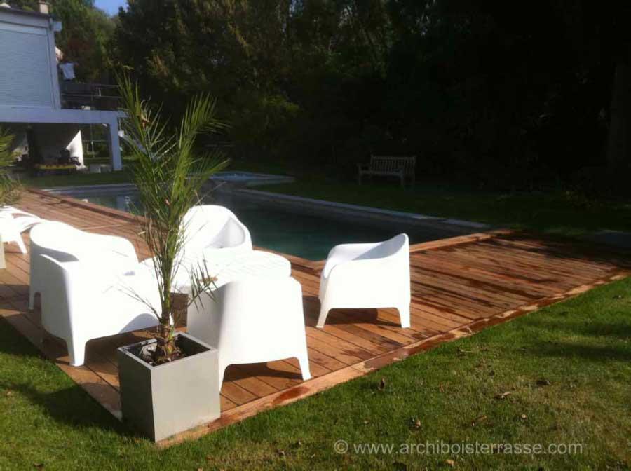 Pool house abri cabane pavillon de jardin et plage deck de piscine - Abri jardin occasion saint denis ...