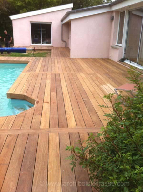 terrasse bois de piscine entourages chemins conception traitement. Black Bedroom Furniture Sets. Home Design Ideas