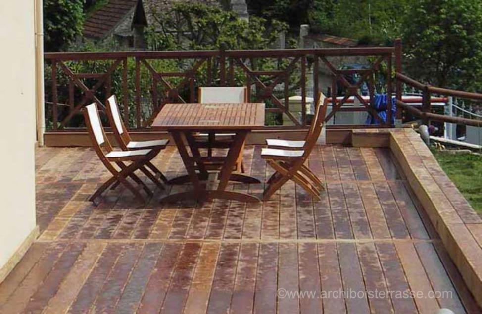 terrasse bois 95