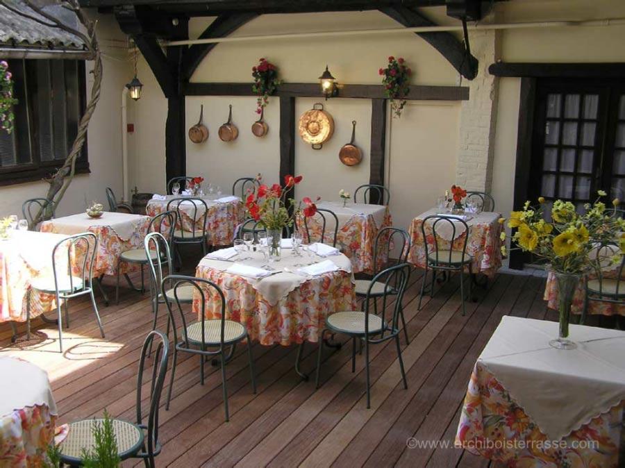 Terrasses En Bois Professionnelles De Bar  Hotel Et Restaurant