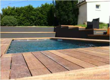 terrasse de piscine en paliers design moderne et contemporain. Black Bedroom Furniture Sets. Home Design Ideas